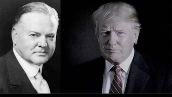 Trump Repeating Mistakes Made by President Herbert Hoover in 1930