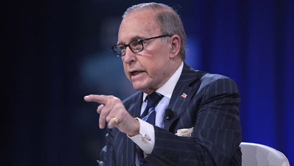 White House Top Economic Advisor Larry Kudlow, Gets Ugly When Asked About Negative Effects of Trump's Trade War