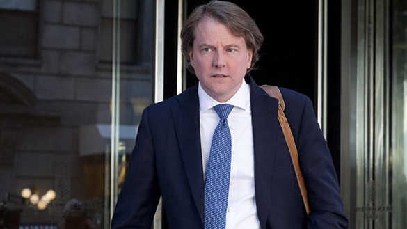 The White House Counsel Donald McGahn Resigns