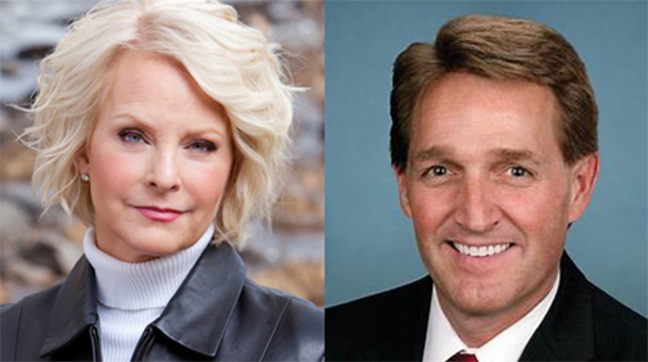 Cindy McCain or Sen. Jeff Flake Should Be Appointed to Finish Senator John McCain's Current Senate Term