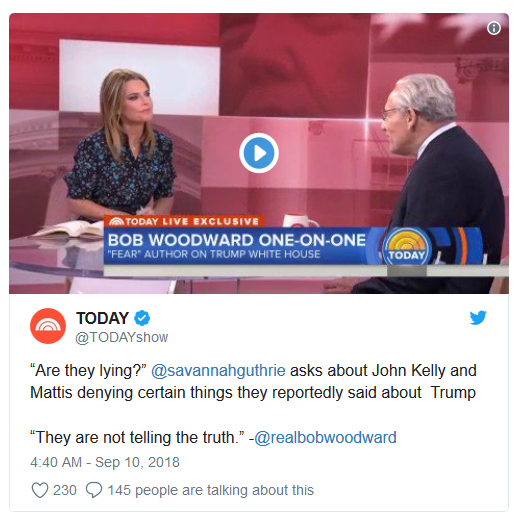 [Picture: Bob Woodward on the Today Show]