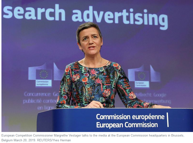 Alt:[Photo:Margrethe Vestager]