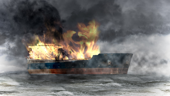 Oil Tanker Sunk, another Damaged Drifting in the Strait of Oman