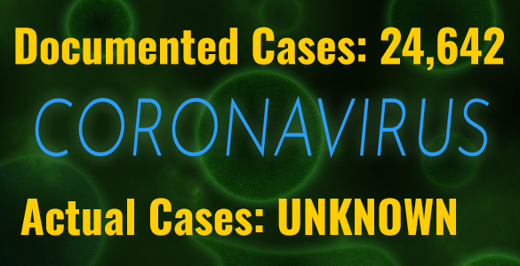 Coronavirus Infections Jump 18% in Single Day; Death Toll Nears 500