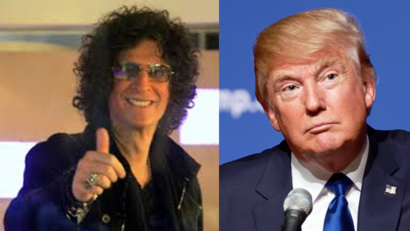 Howard Stern, Takes a Stand for Sanity, while Mocking the Trump Cult's Insanity