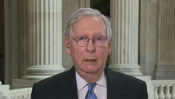 Senate Intelligence Report: Burns Moscow Mitch McConnell