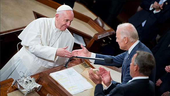 Pope Congratulates Biden Recognizes 2020 Election Victory