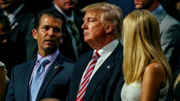 Donald Trump Jr. and Ivanka Inauguration Fraud Scheme Update
