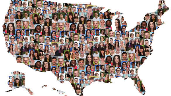 Electoral Maps Change in a Growingly Diverse Nation