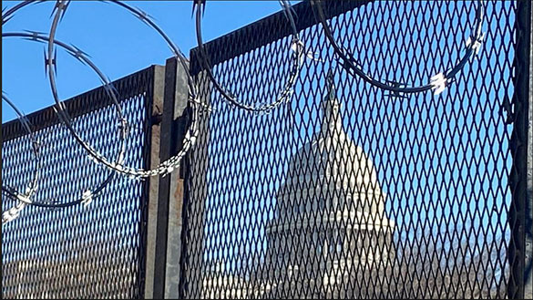 Capitol Fence is Being Erected Again Due to Security Concerns