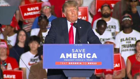 Brookings: Trump Faces' Substantial' Legal Risk in Georgia