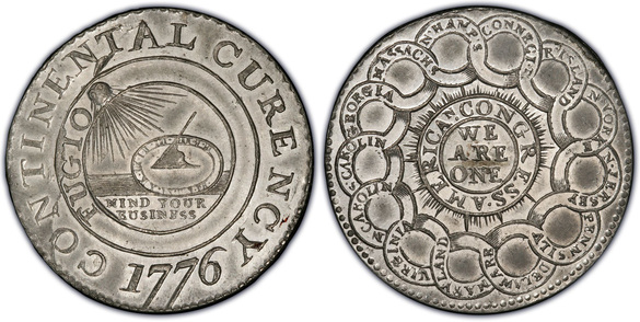 The 1776 Continental Dollar - Benjamin Franklin's Defiant Numismatic Legacy