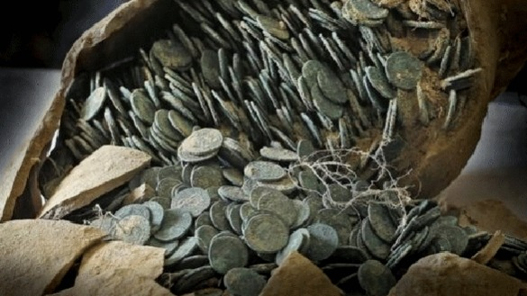 Stunning Hoard of Roman Silver Coins Discovered in Turkey