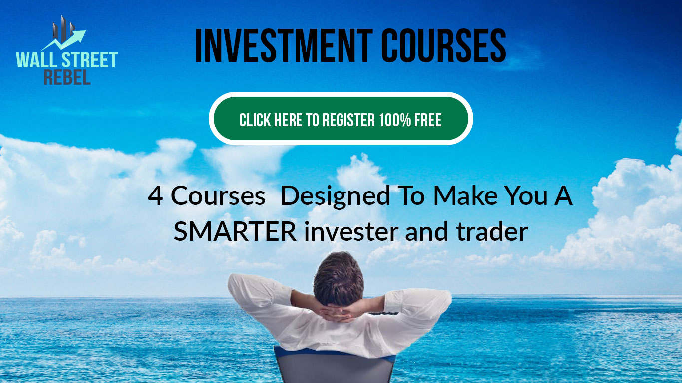 Investment Courses [Click Here to Register: 100% Free]: 4 Courses Designed To Make You A SMARTER Investor and Trader