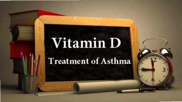 Vitamin D an Ally in the Treatment of Asthma
