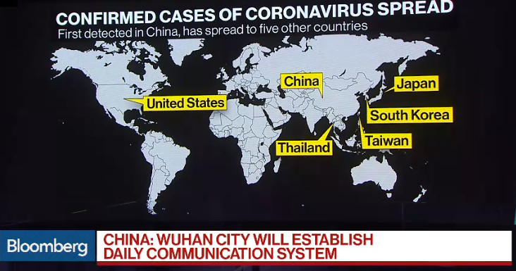 ALT: [Map Confirmed cases of Coronavirus]