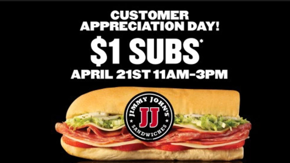 Jimmy John's Sees Crazy Lines Today